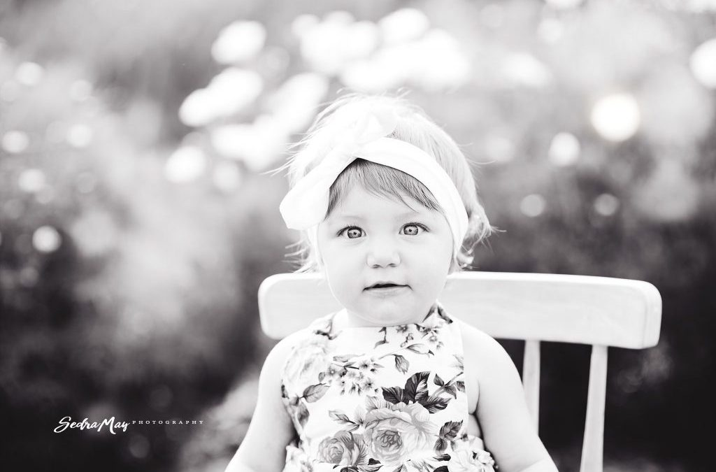 Kimber One Year Milestone | Puyallup Child Portrait Photographer